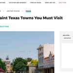 Travel Awaits names Burnet a must visit Town