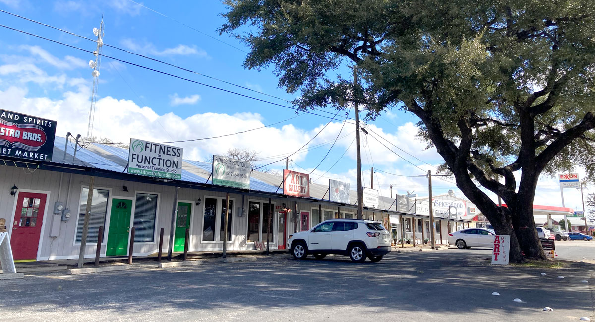 Shops in Spicewood, Texas
