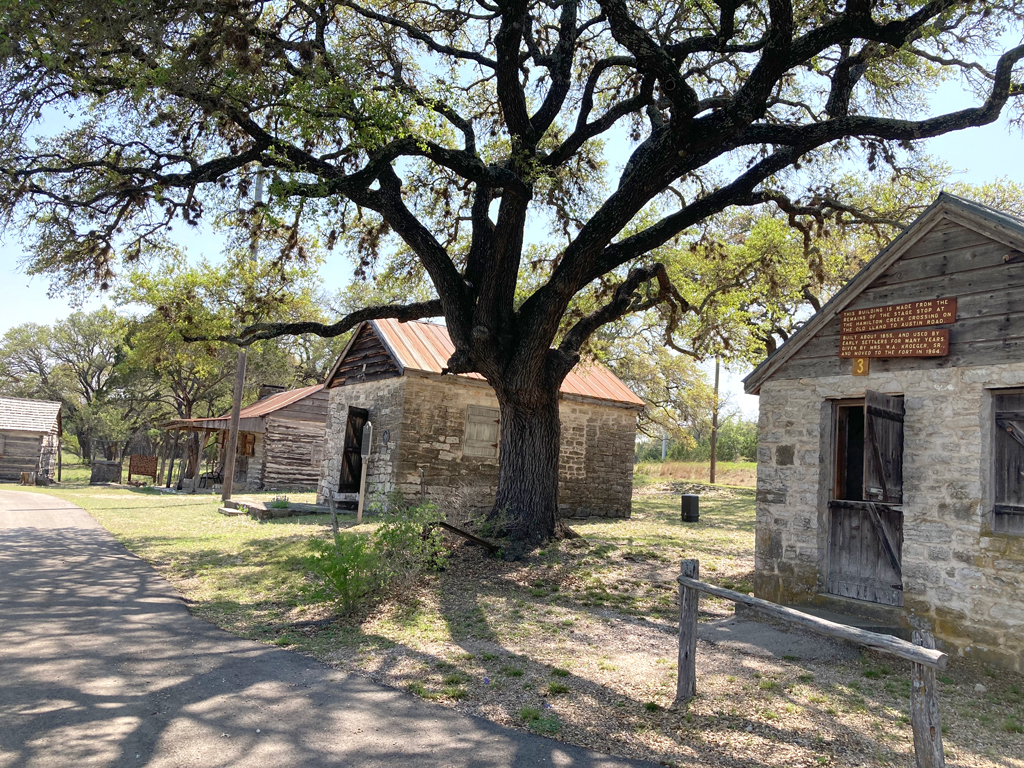 Fort Croghan Grounds and Museum in Burnet