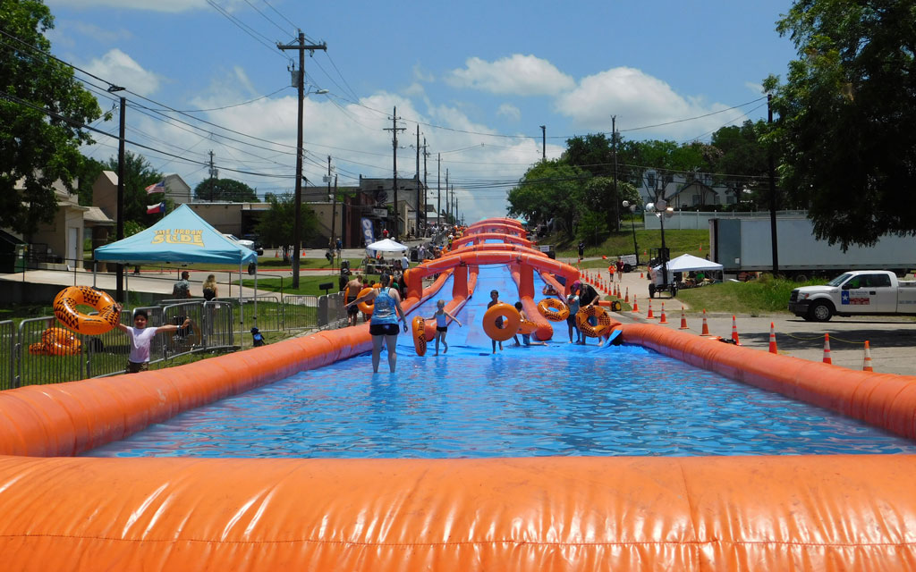 Slide Into Marble Falls