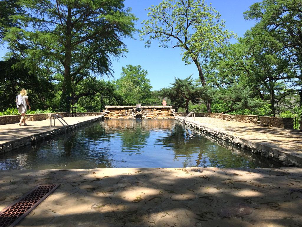 Krause Springs in Spicewood
