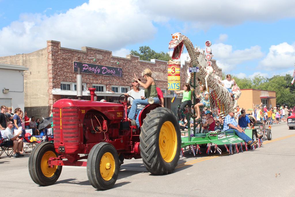 Oatmeal Festival in Bertram